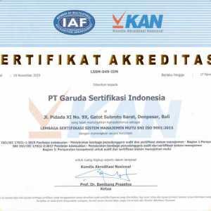 SNI ISO 9001 : 2015