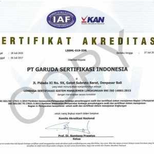 SNI ISO 14001 : 2015